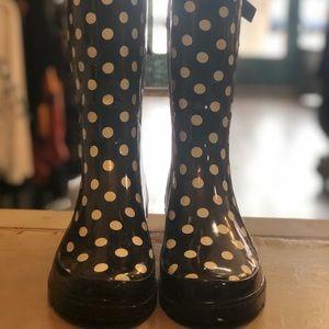 Shoes - Polkadot ☔️Rain Boots